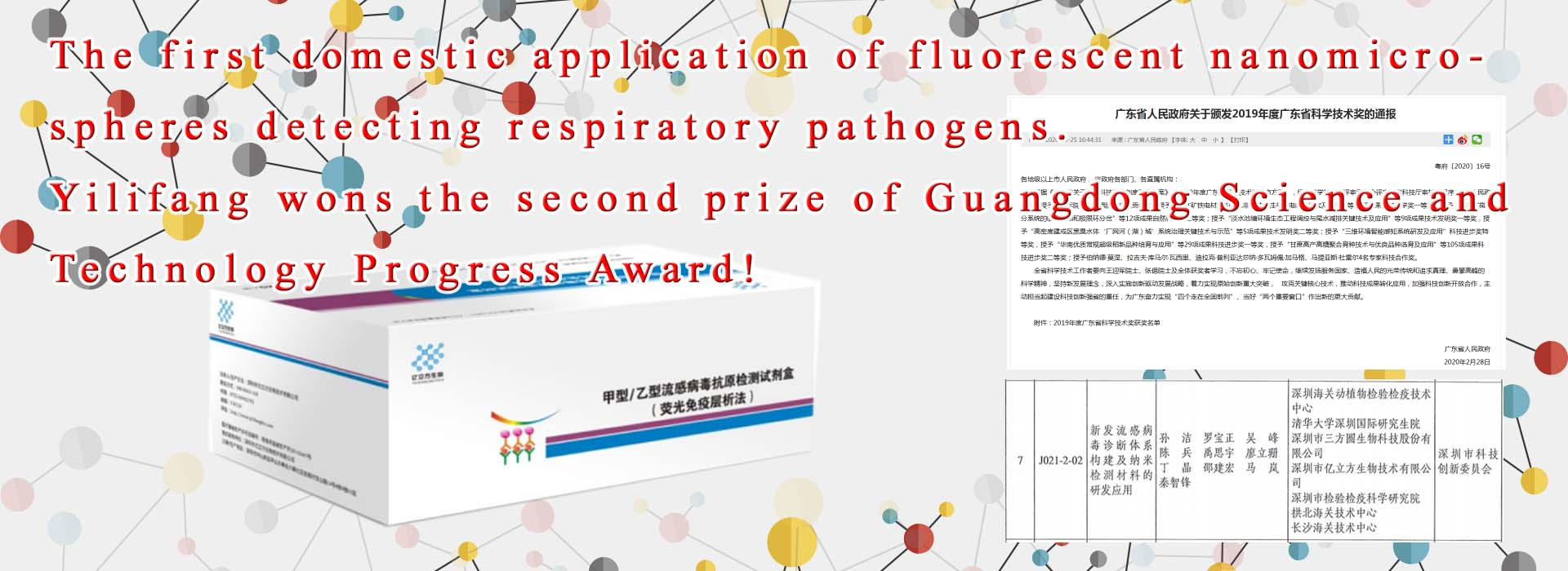 Detection of genetic diseases, detection of infectious diseases of the respiratory tract, detection of tumor early or prognosis, detection of karyotype analysis